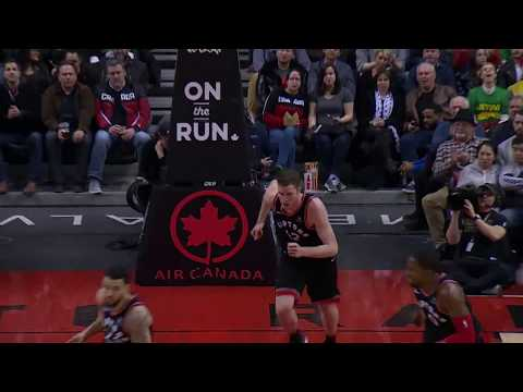 Raptors Highlights: Poeltl Denial and Miller Three - March 16, 2018