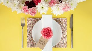 How to make a straw placemat (craft tutorial) Thumbnail