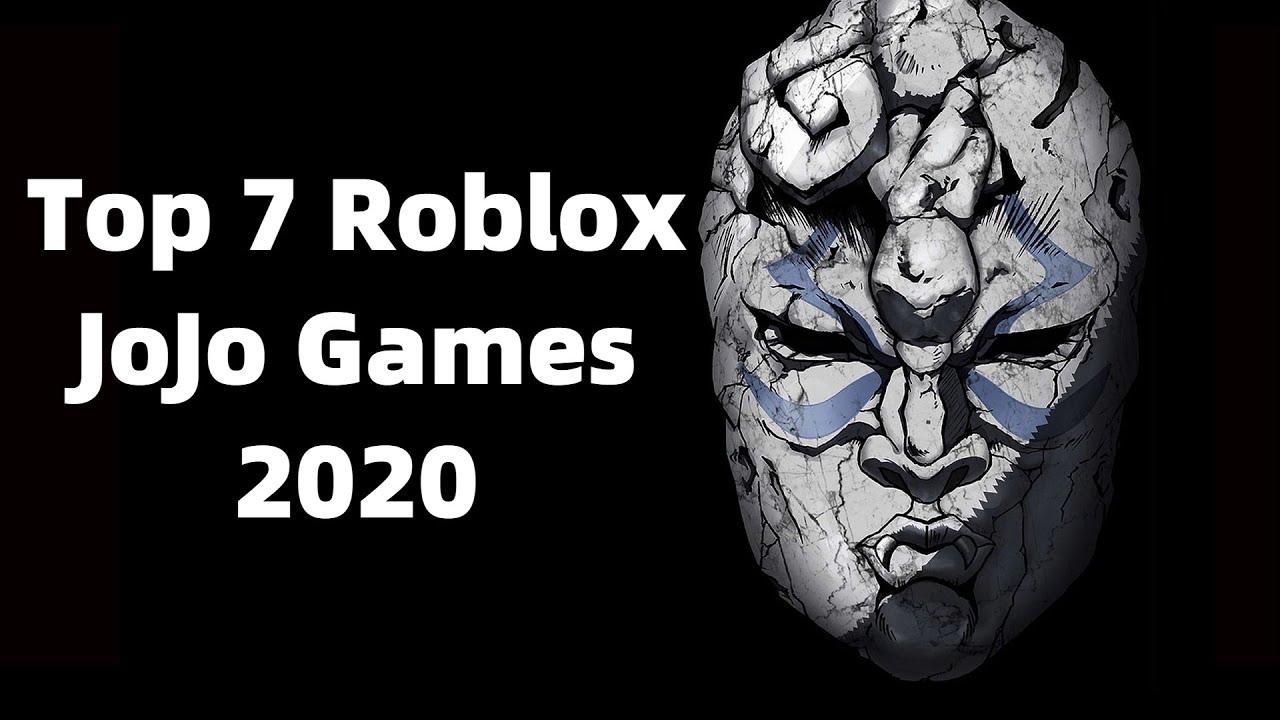 Top 7 JoJo Games in Roblox 2020!