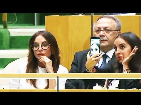 Leyla Əliyevanın BMT-dəki hərəkəti maraqla qarşılanıb
