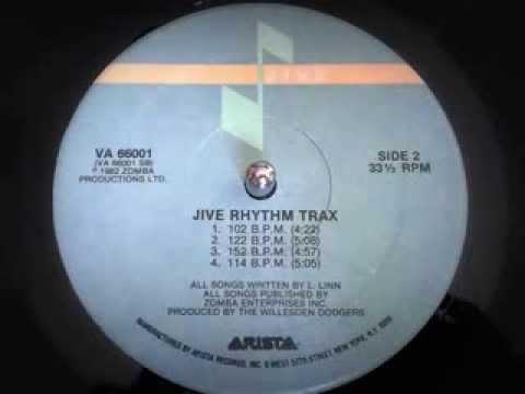 Jive Rhythm Trax   122 BPM