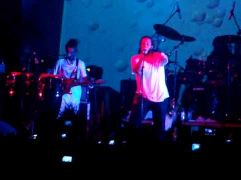 Ky-mani Marley redemption song live at Parliament Park Port Vila, Vanuatu