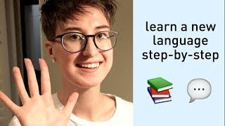 5 steps to learn a language from scratch