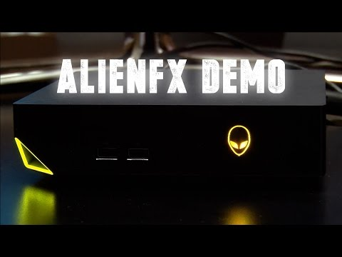 AlienFX Demo on the Alienware Alpha Hardware feat Coffin Dodgers Game