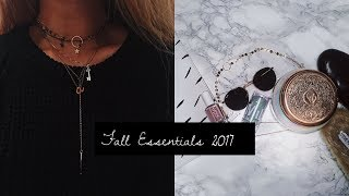 Fall Essentials & October Favorites!  | AnaCarina