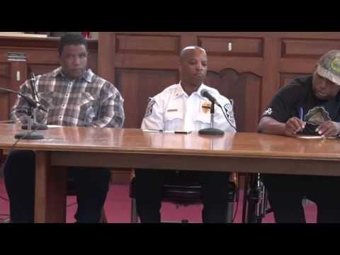 Community, Cops & Race -- Norristown, PA Dialogue at Municipal Hall 2016 PART 1