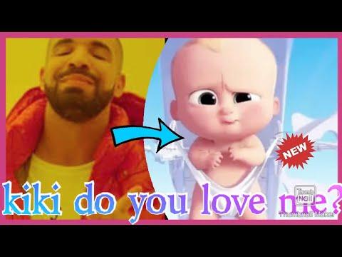 Drake Kiki Song Boss Baby Version,very Funny,kiki Challenge In My Feelings