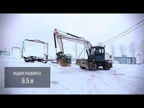 Колёсные экскаваторы серии TVEX