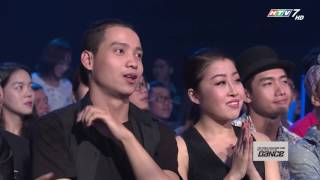 thu thach cung buoc nhay 2016  show 1  booty - lucie ngoc luong bao duy
