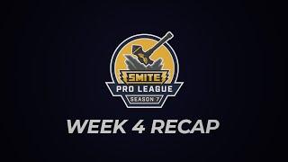 SPL Weekly Recap: Phase 1 Week 4