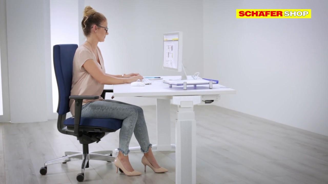 Bürostuhl CETO | Schäfer Shop - YouTube