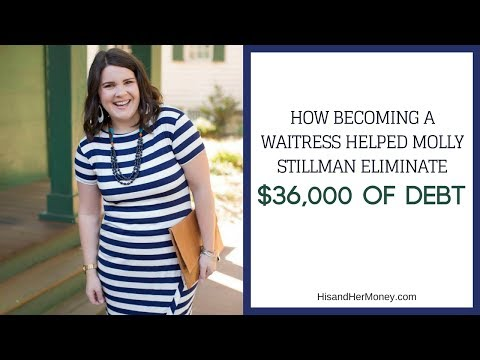 How Becoming a Waitress Helped Molly Stillman Eliminate $36,000 of Debt || Audio Only