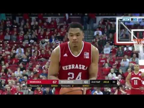 Nebraska at Wisconsin - Men's Basketball Highlights