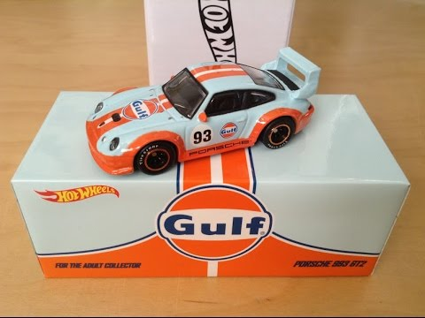 hot wheels 2016 hwc gulf racing porsche 993 gt2 review youtube. Black Bedroom Furniture Sets. Home Design Ideas