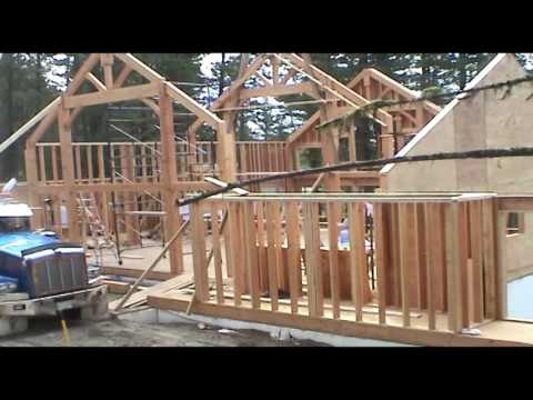Tamlin Homes: 100 Mile House Foundation Process