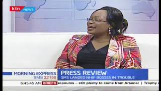 Press review:Jacque Maribe wants the DPP  locked up