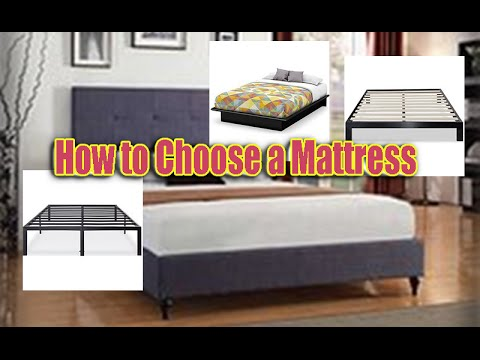 How to Choose a Mattress & Bed Frame for Toddler - YouTube