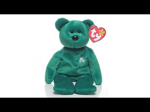St Patrick s Day Review! Ty Beanie Babies - Erin the Irish St Patricks  Teddy Bear 8b18bed808f