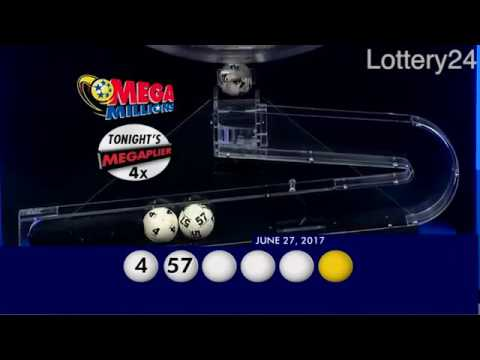 2017 06 27 Mega Millions Numbers and draw results