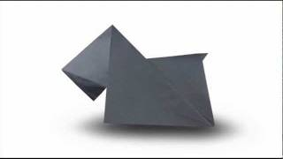 How To Fold An Origami Dog (scottish Terrier)