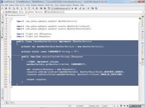 Select Word at Caret (IntelliJ IDEA)