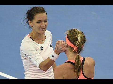2016 China Open Semifinals   Agnieszka Radwanska vs Elina Svitolina   WTA Highlights