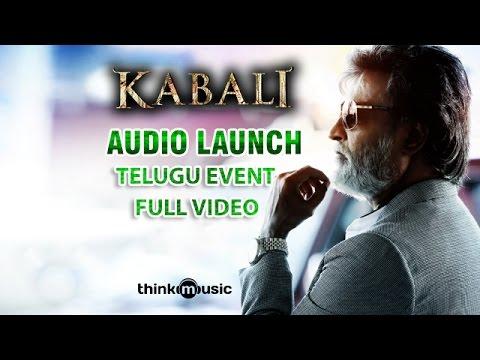 Kabali Telugu Audio Launch Event Full...