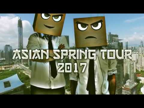 Djs From Mars - Asian Tour March 2017