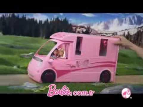 Barbie'nin Pembe Karavanı Toyzz Shop Oyuncak Mağazalarında