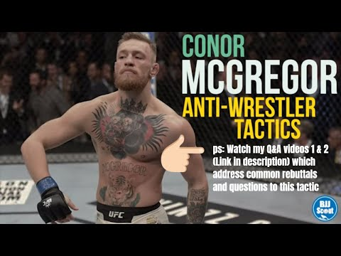BJJ Scout: Conor McGregor Study - Takedown Defence