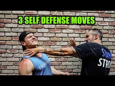 3 Self Defense Moves Everyone Should Know