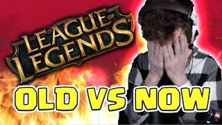 HASHINSHIN :OLD LEAGUE OF LEGENDS VS NOWDAYS -FT. METAPHOR