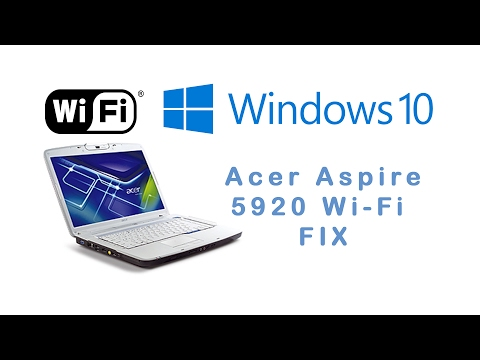 acer aspire 5920 wireless driver windows 8.1