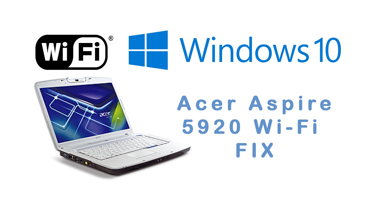 NEW DRIVER: ACER ASPIRE 5920G LAN