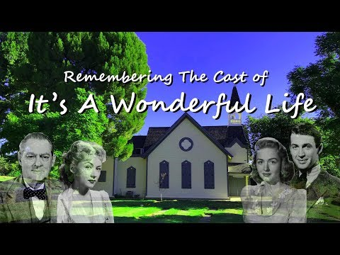 Famous Graves - IT'S A WONDERFUL LIFE -  Cast Members (Jimmy Stewart, Donna Reed & Others)