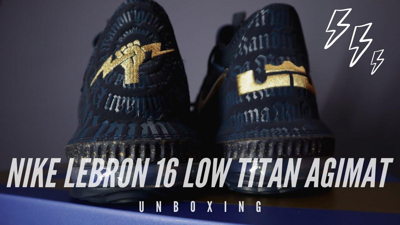 Nike LeBron 16 Low Titan Agimat