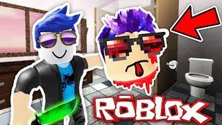 l'assassino mi ha ucciso nel bagno! -Roblox