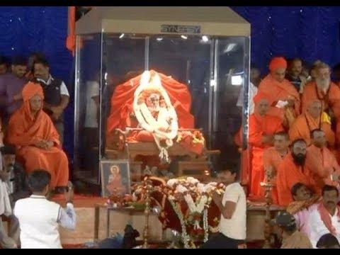 Devotees pay tribute to Shivakumara Swami