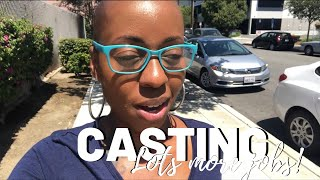 Working in Hollywood | Central Casting 2019 | VLOG