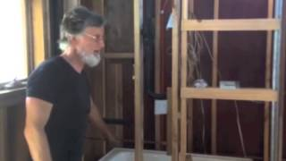 Hot Water System: Gravity-Fed, Wood Fired, Passive Solar Collector - Fred's Tiny Houses Blog