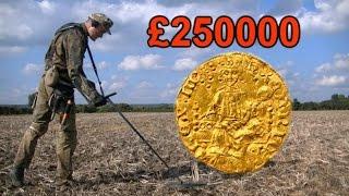 Поиск золота БЬЕМ РЕКОРДЫ  5 раз  Аллилуйя  СЕРЬЕЗНАЯ РЫБИНА Henry III penny