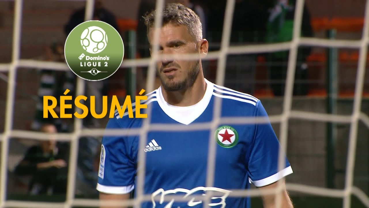 red star fc - fc lorient   0-3   - r u00e9sum u00e9 -  red
