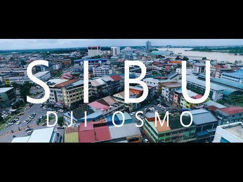 Street Walk: Sibu Travel (DJI OSMO)