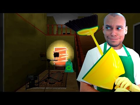 O MELHOR FAXINEIRO DO MUNDO ! - NIGHT WORKER ( GAMEPLAY ANDROID )