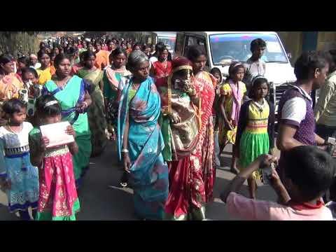 Bapla bidai bera re ... Santhali marriage ceremony