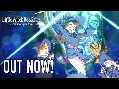 Little Witch Academia: Chamber of Time - PS4/PC - Out Now! (EN release Trailer)