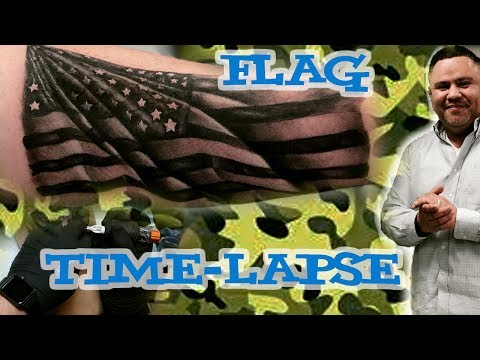 American Flag Timelapse