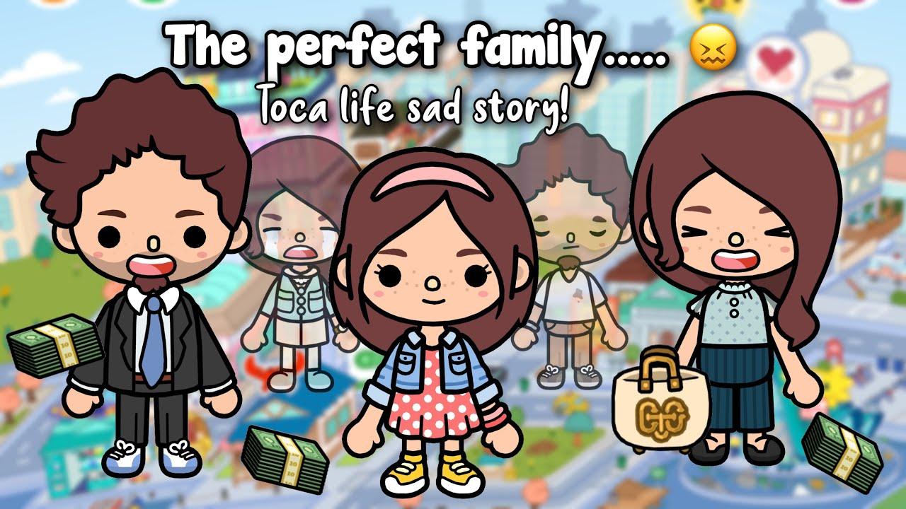 The Perfect Family! 😖   Toca life sad story   Toca shine ✨