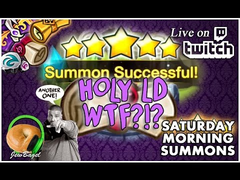 SUMMONERS WAR : Saturday Morning Summons LIVE - 2000+ Mystical, LD & Legendary Scrolls - (1/28/17)
