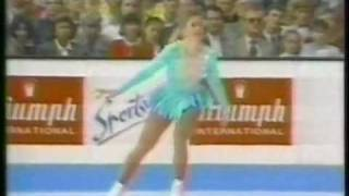 Tonya Harding (USA) - 1991 World Figure Skating Championships, Ladies' Free Skate